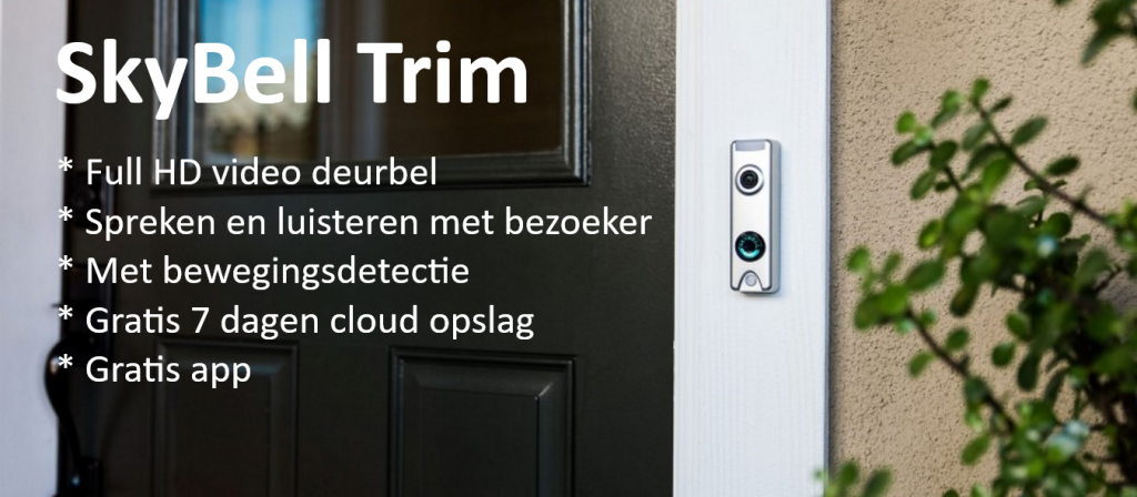SkyBell Trim video deurbel